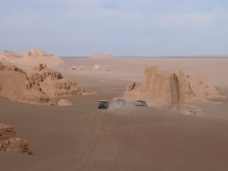 Persia central desert, Isfahan Tour